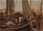 Riccardo Tota (1899-1998),Il Ritorno dei pescatori, c.1929-1930 .jpg