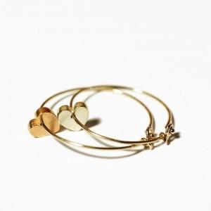 Lilliput cuore-orecchini