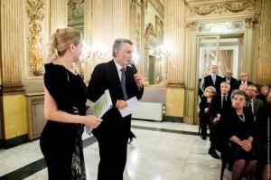 Giacomo Tomasicchio (Presidente Unione Circolo) e Carmen Martorana