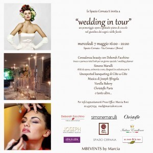 Spazio Cernaia Wedding in Tour
