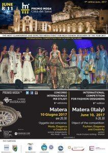 Matera Capitale Europea della Cultura palcoscenico dell'Alta Moda Internazionale
