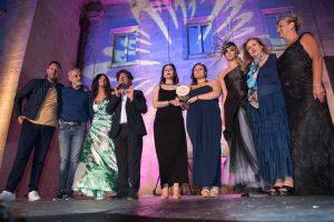 Vincitrici Valentina Mondini e Simona Lomurno del Premio Alta Moda ph. Enzo Dell'Atti