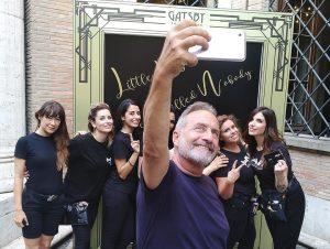 Luciano carino e il suo team
