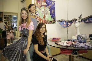 da destra Miriam, Teresa, Arianna Gardoni - foto Elisa Morabito