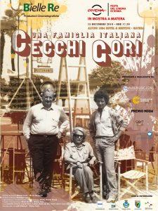"""Locandina - Mostra fotografica """"Cecchi Gori – Una famiglia italiana"""""""